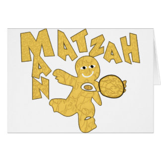 Matzah Man Card