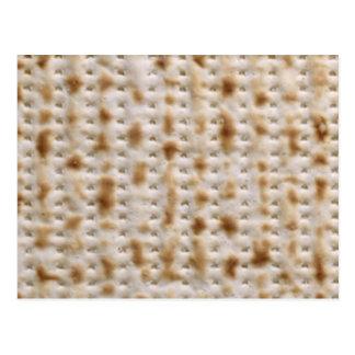 MATZAH POSTCARD ~ unleavened and pesadich