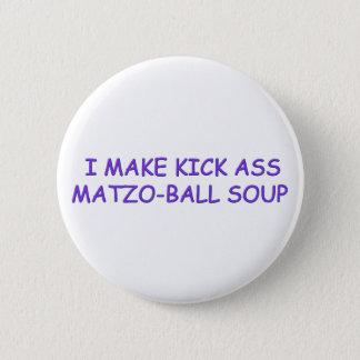 MATZO-BALL MASTER 2 INCH ROUND BUTTON