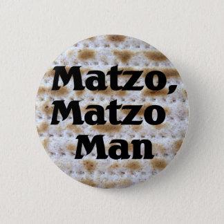 Matzo, Matzo Man 2 Inch Round Button