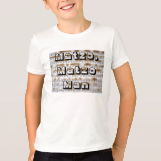 Matzo, Matzo Man kids shirt