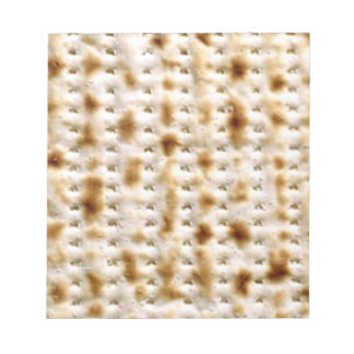 Matzo Note Pad, 40 Pages - Jewish Humor