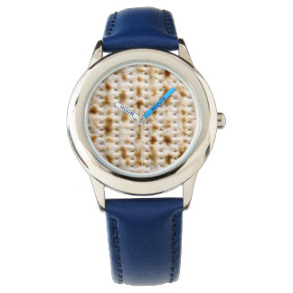 Matzo Passover Blue Strap Watch for Kids