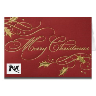 Mau More Greeting Card X'mas
