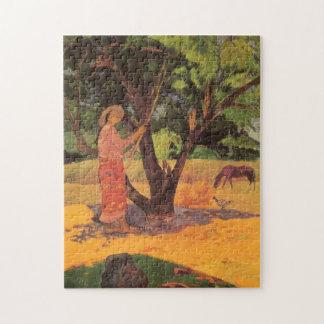 'Mau Taporo' - Paul Gauguin Jigsaw Puzzle