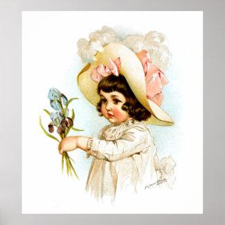 Maud Humphrey: French Child Poster