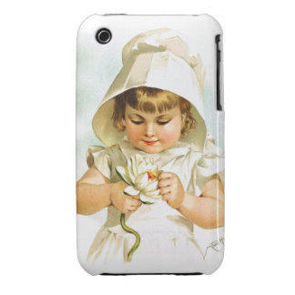 Maud Humphrey: Summer Girl with Water Lily iPhone 3 Cases