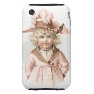 Maud Humphrey's Autumn Girl iPhone 3 Tough Case