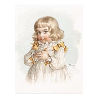 Maud Humphrey's Spring Girl Postcard