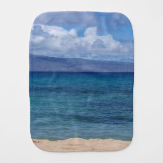 Maui Beach Burp Cloth