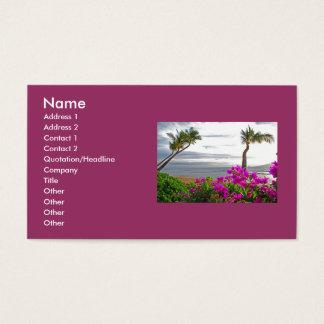 Maui Beach Business Cards