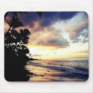 Maui beach sunset Mousepad