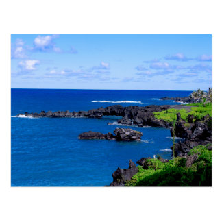 Maui Coastline - Hawaii Postcard