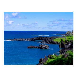 Maui Coastline - Hawaii Postcard
