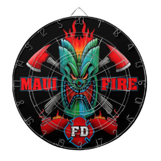 Maui Fire Dartboard