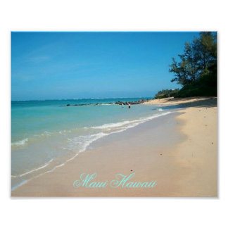 "Maui Hawaii 10""x8"" Poster"