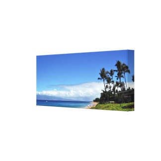 Maui Home Sweet Home Wrapped Canvas Stretched Canvas Prints
