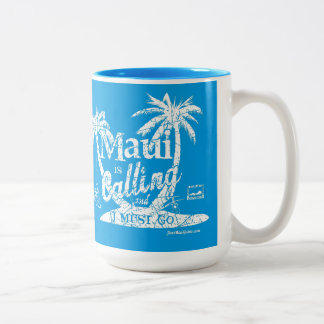 Maui is Calling Mug