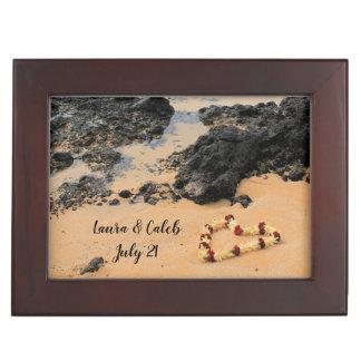 Maui Lei on Secret Beach Keepsake Box
