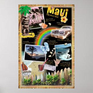 Maui Memories Poster