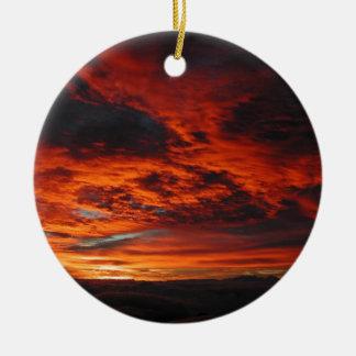 Maui Mt Haleakala Inspirational Ornament