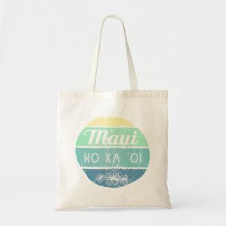 Maui No Ka Oi Vintage Typography Tote Bag