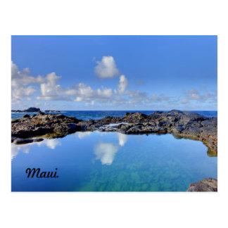Maui. Olivine Pools. Postcard