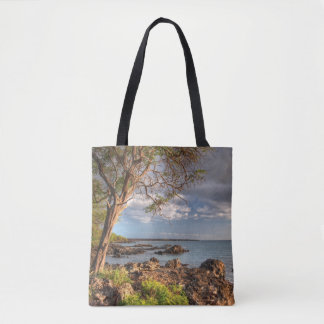 Maui shoreline tote bag