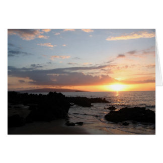Maui Sunset 2 Card