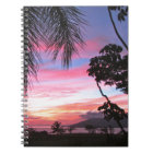 Maui sunset notebook