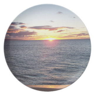 Maui Sunset Plate