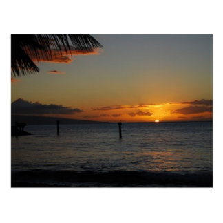 Maui Sunset Postcard