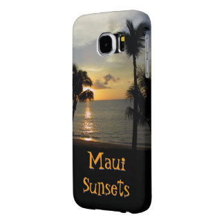Maui Sunsets Samsung Galaxy S6 Cases