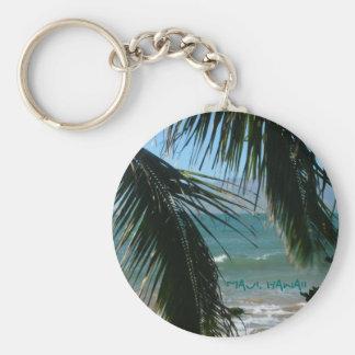 Maui's Tropical Beauty Keychain