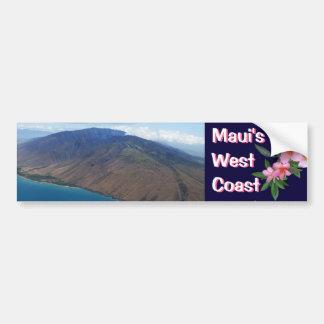 Maui's West Coast Bumper Sticker