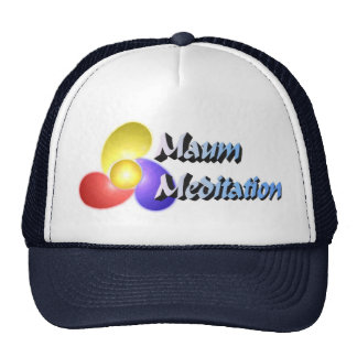 Maum Meditation Ball Cap Trucker Hat
