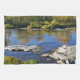 Maumee River at Providence Hand Towel
