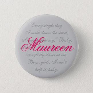 Maureen 2 Inch Round Button