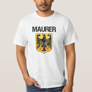 Maurer Last Name T-Shirt