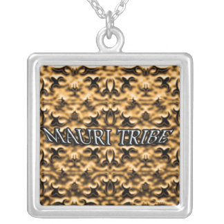 Mauri Tribe Gold Silver Plated Necklace