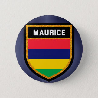 Maurice Flag 2 Inch Round Button