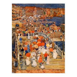 Maurice Prendergast- Ponte della Paglia Postcard