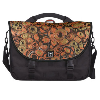 Mauricio Saravia's painting titled Essence. Laptop Commuter Bag