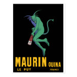 Maurin Quina - Cappiello 1906 - absinthe Apertif Carte Postale