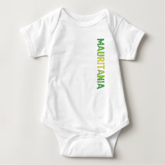 Mauritania Baby Bodysuit