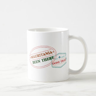 Mauritania Been There Done That Coffee Mug