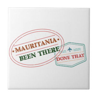 Mauritania Been There Done That Tile