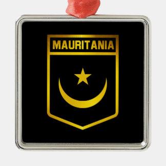 Mauritania Emblem Metal Ornament