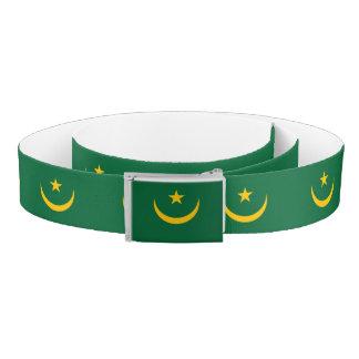 Mauritania Flag Belt