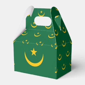 Mauritania Flag Favor Box